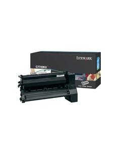 Lexmark C7722KX värikasetti Alkuperäinen Musta 1 kpl Lexmark C7722KX - 1