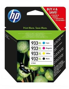 HP 932XL/933XL 4 pc(s) Original High (XL) Yield Black, Cyan, Magenta, Yellow Hq C2P42AE#301 - 1