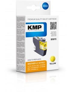 KMP 1538.4009 mustekasetti Yhteensopiva Keltainen 1 kpl Kmp Creative Lifestyle Products 1538,4009 - 1