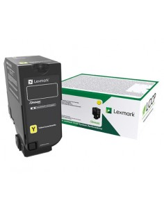 Lexmark 75B20Y0 toner cartridge 1 pc(s) Original Yellow Lexmark 75B20Y0 - 1
