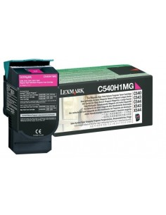 Lexmark C540H1MG värikasetti 1 kpl Alkuperäinen Magenta Lexmark C540H1MG - 1