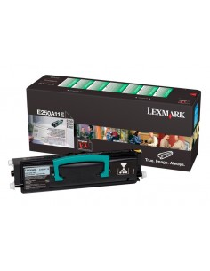 Lexmark E250A11E Tonerkassett 1 styck Original Svart Lexmark E250A11E - 1