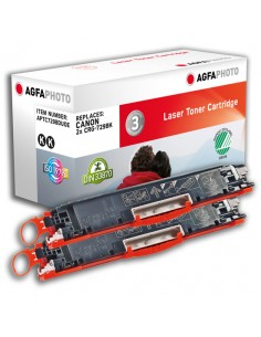 Agfaphoto Toner 2x Black Agfaphoto APTC729BDUOE - 1