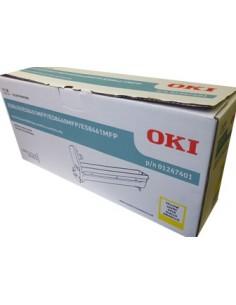 OKI 01247401 värikasetti Alkuperäinen Keltainen 1 kpl Oki 01247401 - 1
