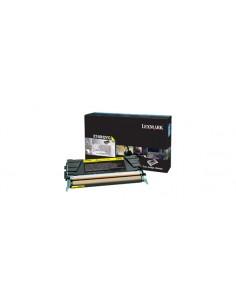 Lexmark X748H2YG Tonerkassett 1 styck Original Gul Lexmark X748H2YG - 1