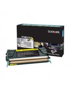 Lexmark X748H3YG toner cartridge 1 pc(s) Original Yellow Lexmark X748H3YG - 1