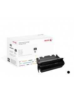 Xerox Värikasetti, musta. Vastaa tuotetta Lexmark T654X11E, T654X21E. Yhteensopiva avec T654, T656-tulostimen kanssa Xerox 106R0