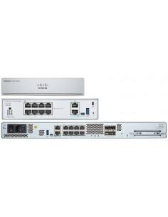 Cisco FPR1010-ASA-K9 hårdvarubrandväggar 1U 2000 Mbit/s Cisco FPR1010-ASA-K9 - 1