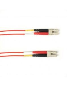Black Box FOLZHSM-005M-LCLC-RD valokuitukaapeli 5 m LSZH OS2 LC Punainen Black Box FOLZHSM-005M-LCLC-RD - 1