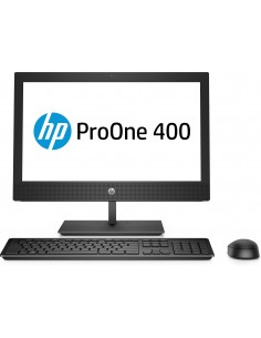 "HP ProOne 400 G4 50,8 cm (20"") 1600 x 900 pikseliä 8. sukupolven Intel® Core™ i5 8 GB DDR4-SDRAM 256 SSD Musta All-in-One PC Hp"
