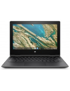 "HP Chromebook x360 11 G3 EE 29.5 cm (11.6"") 1366 x 768 pixlar Pekskärm Intel® Celeron® 4 GB LPDDR4-SDRAM 32 eMMC Wi-Fi 5 Hp 9TV0"