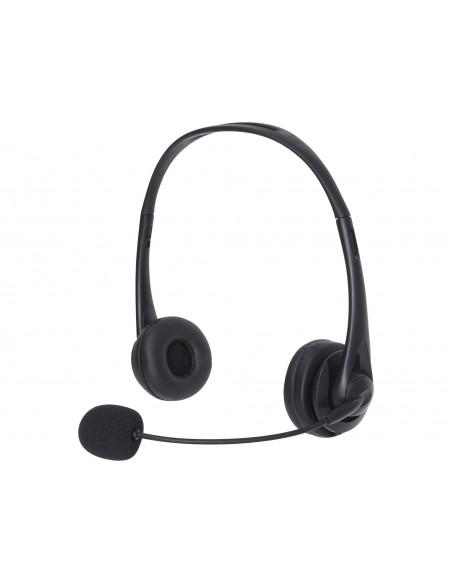 Sandberg 126-21 kuulokkeet ja kuulokemikrofoni Pääpanta 3.5 mm liitin Musta Sandberg 126-21 - 3