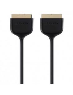 Belkin F3Y047bt2M SCART-kabel 2 m SCART (21-pin) Svart Belkin F3Y047BT2M - 1