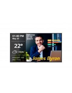 "LG 43UM3DG-B signage display Digital flat panel 109.2 cm (43"") IPS 4K Ultra HD Black Built-in processor Web OS Lg 43UM3DG-B - 1"