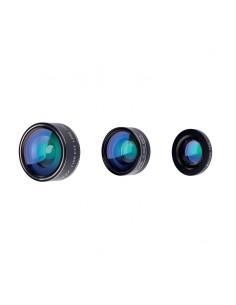 PNY LNS-3N1-02-RB mobile phone lens Fisheye, macro & wide Black Pny LNS-3N1-02-RB - 1