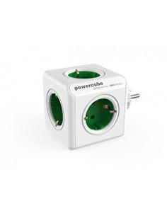 Allocacoc PowerCube Original jatkojohto 5 AC-pistorasia(a) Sisätila Vihreä, Valkoinen Allocacoc 1103GN/DEORPC - 1