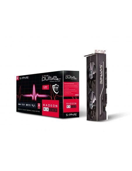Sapphire PULSE RX 580 8G G5 OC Lite AMD Radeon 8 GB GDDR5 Sapphire Technology 11265-67-20G - 8