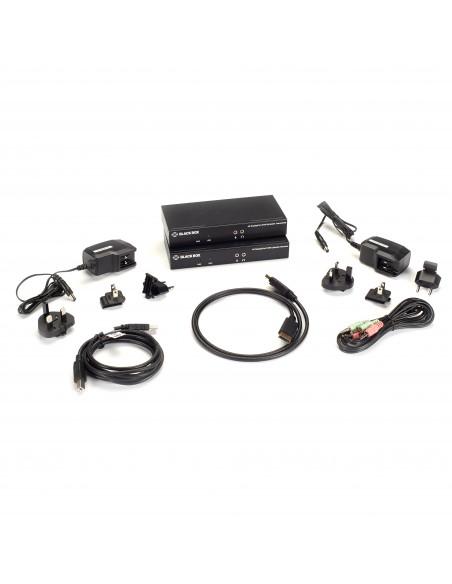 Black Box KVXLCDPF-100 KVM -kytkin Lähetin & vastaanotin Black Box KVXLCDPF-100 - 5