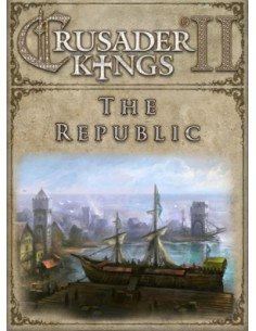 Paradox Interactive Crusader Kings II: The Republic Videopelin ladattava sisältö (DLC) PC/Mac/Linux Paradox Interactive 757762 -