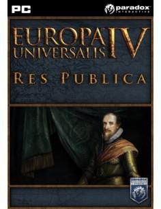 Paradox Interactive Europa Universalis IV: Res Publica, PC/Mac/Linux Perus Englanti Paradox Interactive 781596 - 1