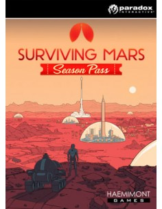 Paradox Interactive Surviving Mars Season Pass PC/Mac Kausikortti Englanti Paradox Interactive 846533 - 1