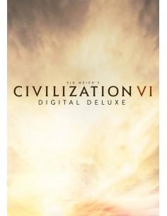 2K Sid Meiers Civilization VI Digital Deluxe Edition PC/Mac/Linux Monikielinen 2k Games 809009 - 1
