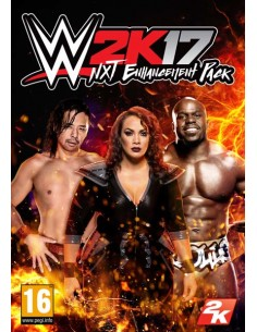 2K WWE 2K17 NXT Enhancement Pack PC Videopelin ladattava sisältö (DLC) Englanti 2k Games 822595 - 1