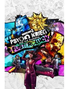 2K Borderlands 3: Psycho Krieg and the Fantastic Fustercluck Videopelin lisäosa PC Englanti 2k Games 861246 - 1