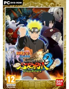 BANDAI NAMCO Entertainment NARUTO SHIPPUDEN: ULTIMATE NINJA STORM 3 FULL BURST, PC Perus Englanti Namco Bandai Games 769572 - 1