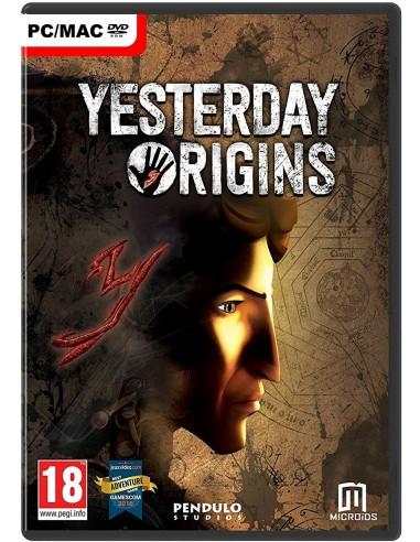 Microids Yesterday Origins, PC/Mac Perus Englanti Microids 810408 - 1