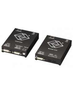 Black Box Blackbox Catx Kvm Extender – Dvi-d, Usb Hid, Audio, Black Box ACS4022A-R2 - 1