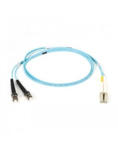 Black Box Blackbox Om3 Patch Cable 50µm (lz0h) - Aqua, Mu – Lc Black Box EFE361-010M-AQ - 1