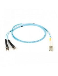 Black Box Blackbox Om3 Patch Cable 50µm (lz0h) - Aqua, E2000-sc Black Box EFE362-003M-AQ - 1