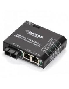Black Box Blackbox Media Converter Switches - Multimode, Sc, Black Box LBH100AE-P-SC - 1