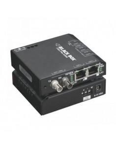 Black Box Blackbox Media Converter Switches - Multimode, St, Black Box LBH100AE-P-ST - 1