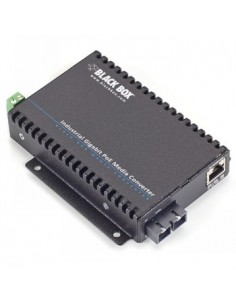 Black Box Blackbox Poe Industrial Gigabit Ethernet Media Converter Black Box LGC5302A - 1