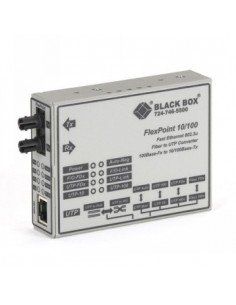 Black Box Blackbox Flexpoint 10/100 Modular Media Converters - Black Box LMC100AE-R3 - 1