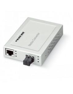 Black Box Blackbox Xs 10-100 Converter - (1) 10/100 Mbps Rj45, (1) Black Box LMCS202AE-ST - 1