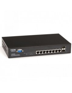 Black Box Blackbox Poe Managed Gigabit Switches - Poe, (8) Black Box LPB4008A - 1