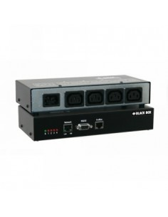 Black Box Blackbox Power Switch Ng - Europe (schuko), 4 Port Black Box PSE554MA-EU - 1