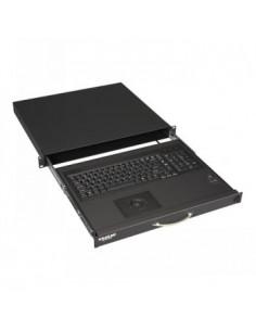 "Black Box Blackbox 19"" Short Depth Keyboard Drawer With Trackball Black Box RM418-NO-R4 - 1"
