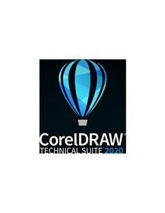 Corel Upg Draw Tech Suite 2020 Lics Ent Incl 1y Sure Maint 5-50 I Corel LCCDTS2020ENTUG1 - 1