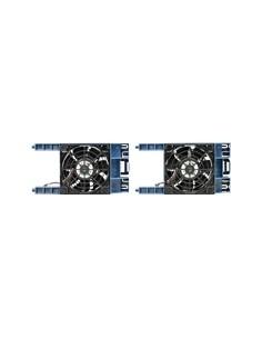 Hewlett Packard Enterprise HPE ML30 Gen10 PCI Fan and Baffle Kit Computer case Black, Blue Hp P06303-B21 - 1
