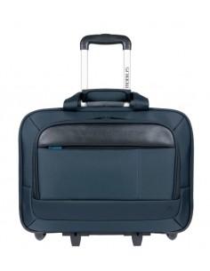 """Mobilis Executive 3 laukku kannettavalle tietokoneelle 40.6 cm (16"""") Tietokonelaukku pyörillä Musta, Sininen Mobilis 005036 - 1"""