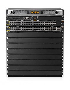 Hewlett Packard Enterprise JL741A nätverksswitchar Gigabit Ethernet (10/100/1000) Strömförsörjning via (PoE) stöd Svart Aruba JL