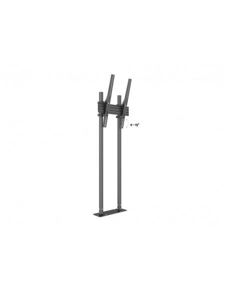 "Multibrackets M Dual Pole Floormount Pro 65""-90"" Multibrackets 7350073738953 - 8"