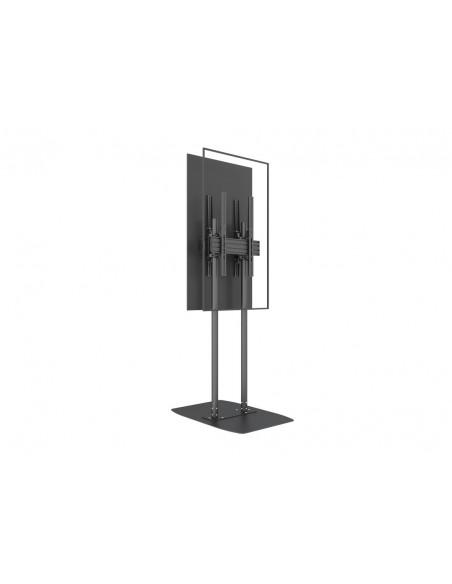 "Multibrackets M Dual Pole Floorbase Pro B2B 65""-90"" Multibrackets 7350073738984 - 10"