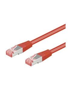 Goobay CAT 6-500 SSTP PIMF Red 5m verkkokaapeli Punainen Goobay 68281 - 1