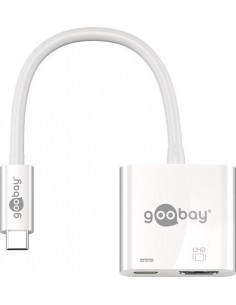 Goobay 62110 keskitin USB 3.2 Gen 1 (3.1 1) Type-C Valkoinen Goobay 62110 - 1