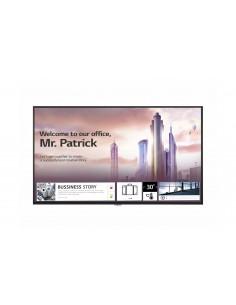 """LG UH5F Digitaalinen litteä infotaulu 165.1 cm (65"""") IPS 4K Ultra HD Musta Sisäänrakennettu prosessori Web OS Lg 65UH5F-H - 1"""